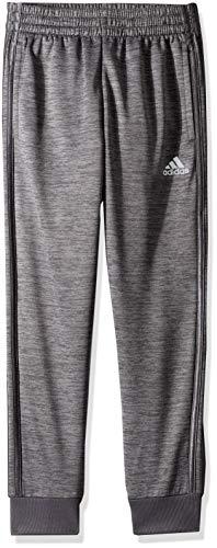 adidas Boys' Big Fleece Jogger Pant, Focus Grey Five Heather, M (10/12)