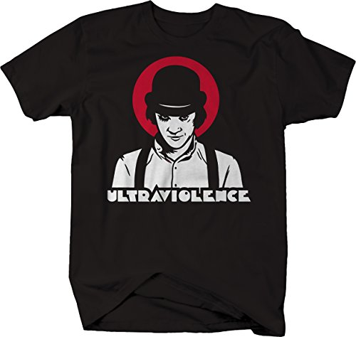 Stoned Shirts Clockwork Orange Ultraviolence Alex Bowler Hat Tshirt for Men Medium