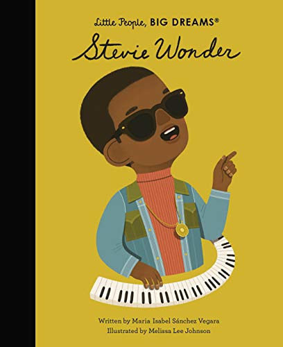 Stevie Wonder (Little People, BIG DREAMS Book 56) (English Edition)