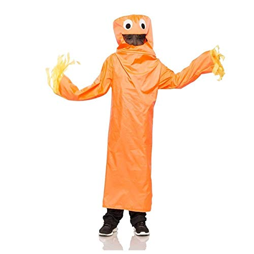 Seeing Red Wacky Waving Tube Guy Costume, Arm Flailing Tube Man, Funny Halloween Costume Childs (Small / Medium)
