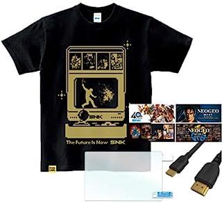 """SNK Dot Hero's T """"Orochinagi"""" +NEOGEO mini HDMIケーブル (2M) + HD スクリーンプロテクター (2個入り) + キャラクターステッカー (4枚入り)"""