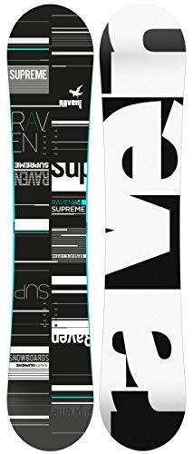 RAVEN Snowboard Supreme Black/Mint (151cm)
