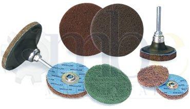 2'' - Rol-On Fine Grit Buff Blend Quick Change Max 57% OFF Outlet SALE Disc