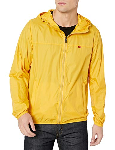 Mens Yellow Windbreaker