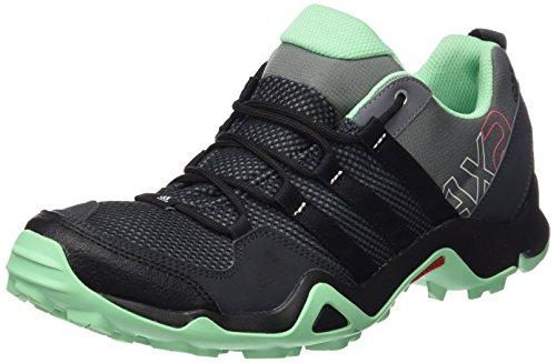 adidas adidas Damen AX2 Trekking- & Wanderhalbschuhe, Grau (Vista Grey S15/Core Black/Green Glow S16), 36 EU
