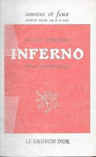 Inferno. Préface d'Arthur Adamov. par STRINDBERG (Auguste).
