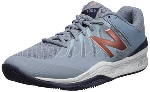 New Balance womens 1006 V1 Tennis Shoe, Reflection/Rose Gold, 8.5 Wide US