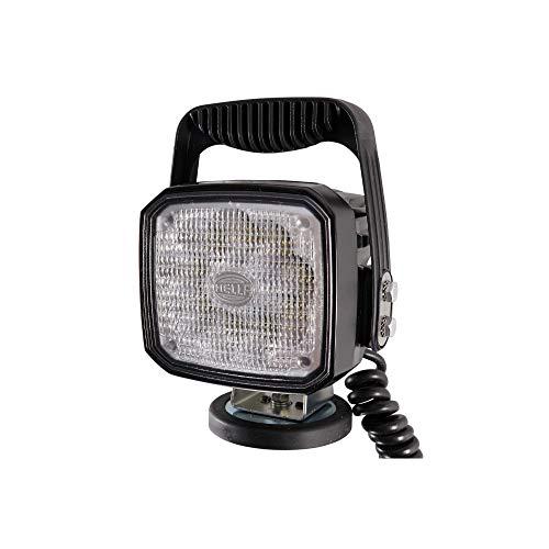 HELLA 1GA 995 506-111 LED-Projecteur de travail - Ultra Beam - 12/24V - 2200lm - Fixation magnétique - debout - Éclairage du champs proche - Câble: 3500mm - Fiche: DIN 4165 - Fiche: Fiche ronde