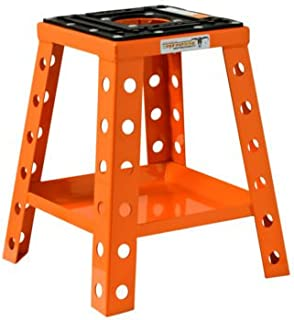 Pit Posse Aluminum Bike Stand (17 inches) (Orange)