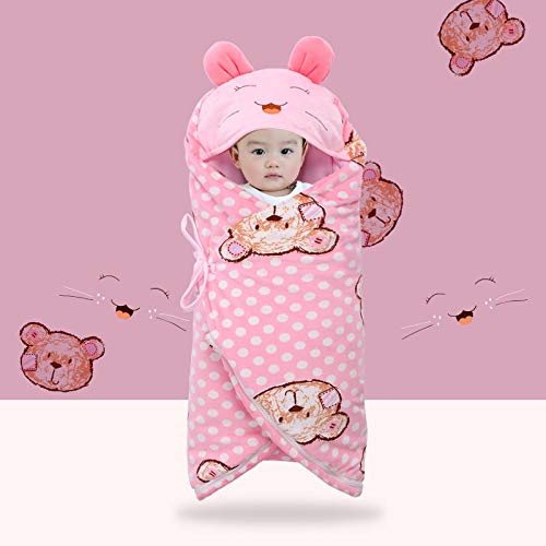 MMYYIP pasgeboren baby was slaapzak kind anti-startle herfst en winter dikker babyverzorging buik warme slaapzak kick