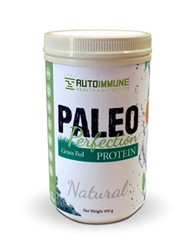 Paleo Protein Powder (Paleo Perfection), Grass-Fed Beef Collagen, Autoimmune Protocol (AIP), Keto, Specific Carbohydrate (SCD), Compliant/Legal - Natural (1 lb, 30 Servings)