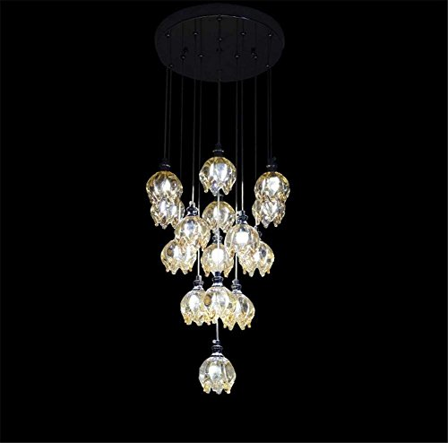 AI LI WEI Juan Belliime Lampen/Indoor Lighting Fixtures Crystal Like Transparent Draak Glas Fruit LED De Ristorante de lange Chandelier Lighting