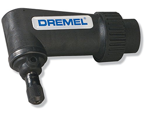 Dremel 575 Right Angle Attachment for Rotary Tool- Angle Drill Attachment , Black