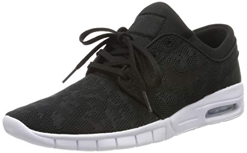 Nike Stefan Janoski MAX, Zapatillas de Skateboarding para Hombre, Negro (Black/Black/White 022), 44 1/3 EU