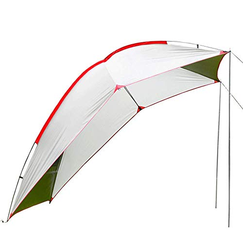LLSS Camping Tent Suitable for Cars, SUV Tailgate Shade Awning Tent, Outdoor Portable Camping Car Tail Tent Self-Driving Barbecue Multi-Person Rainproof Shade Pergola