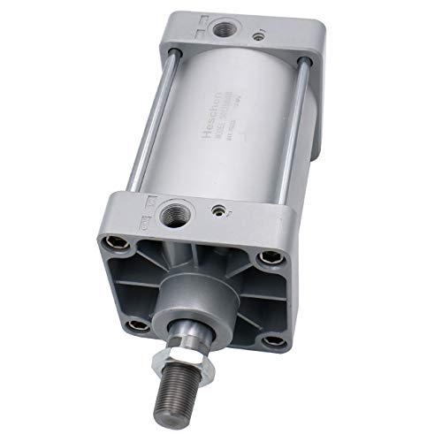 Heschen - Cilindro neumático estándar SC 125-100 PT1/2 puerto 125 mm (5') diámetro de 100 mm (4') carrera doble efecto