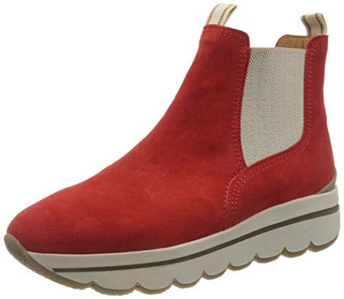 Gabor Shoes Damen 33.702.15 Stiefelette, rot,40.5 EU