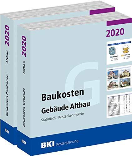 Baukosten Gebäude + Positionen Altbau 2020: Statistische Kostenkennwerte