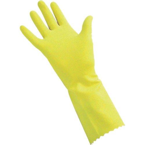 Haushaltshandschuhe Latex gelb EN388