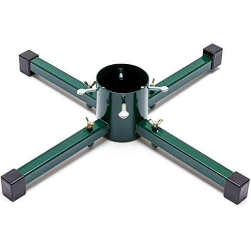 Christmas Tree Stand, Metal Xmas Tree Stand for Medium Trees (23 x 23 x 5 in)