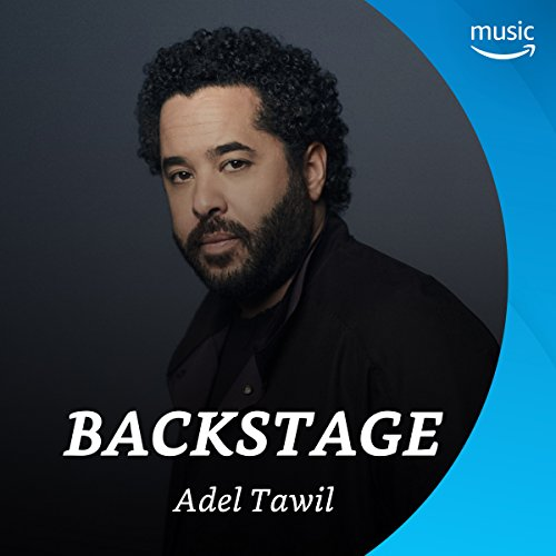 Backstage mit Adel Tawil