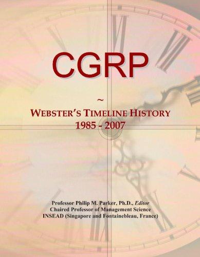 CGRP: Webster's Timeline History, 1985 - 2007