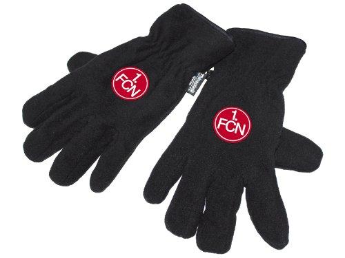 1.FC Nürnberg Handschuhe Fleece versch. Größen FCN Fanartikel, Größe:S