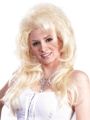 Enigma Wigs Women's New Dolly, Blonde, One Size