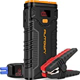 Jump Starter, AUTOWN 2000A Peak 20800mAh Car Jump Starter (Up to 8.0L Gas/6.5L Diesel Engines) with Quick Charge 3.0, QDSP 12V Auto Battery Booster Portable Power Pack with Built-in LED Light