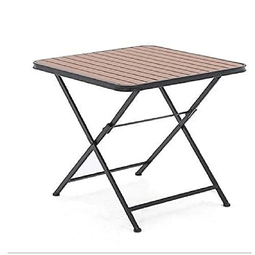 XIAOJU Mesa de Picnic Plegable portátil para Acampar Mesa de Picnic Taburete Juego de sillas Juego de Mesa de jardín para Patios, Fiestas, bufés,Table