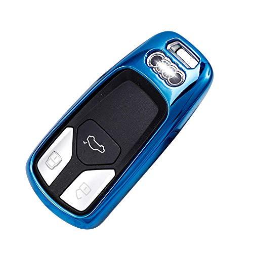 Custodia protettiva per chiavi auto Tpu + Pc Custodia protettiva per chiavi auto Custodia protettiva Applicare Audi B-1