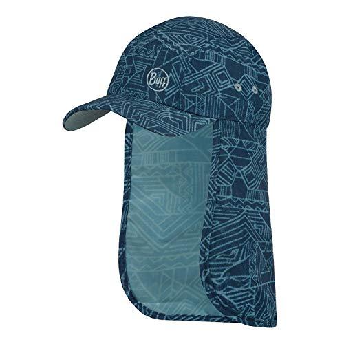 Buff Unisex Kinder Bimini Cap Kappe, blau, Einheitsgröße