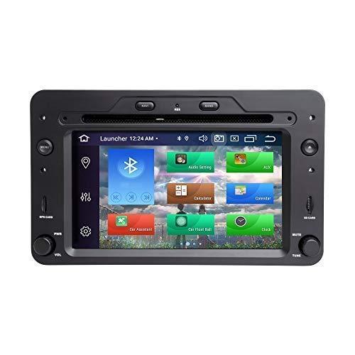 Navegador GPS Para Alfa Romeo Spider Brera 159 Sportwagon Android 10.0 Octa Core 4GB RAM 128GB ROM 6.2 'Reproductor de DVD para automóvil Sistema GPS multimedia Auto Radio Estéreo 1 Din Soporte Auto
