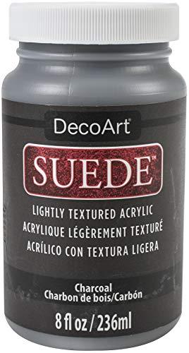 Deco Art SUEDE PAINT 8OZ CHARCOAL, us:one size