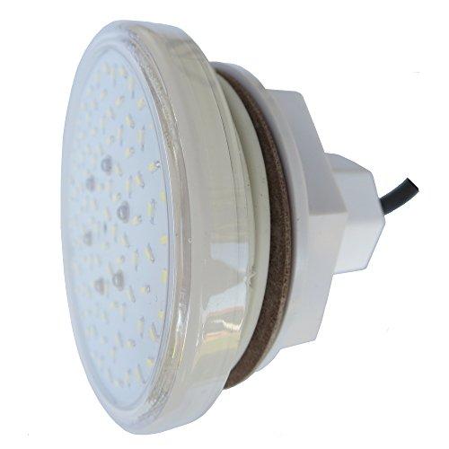 """LED Pool Scheinwerfer RGB Multicolor 12VAC Außengewinde 2"""" mit Einbausatz"""