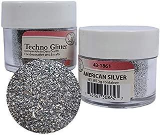 Techno Glitter - American Silver 2Pack