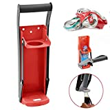 Hete-supply 16oz Metal Can Crusher for recycling, Wall Mounted Soda Beer Tin Can Smasher, with bottle opener,...
