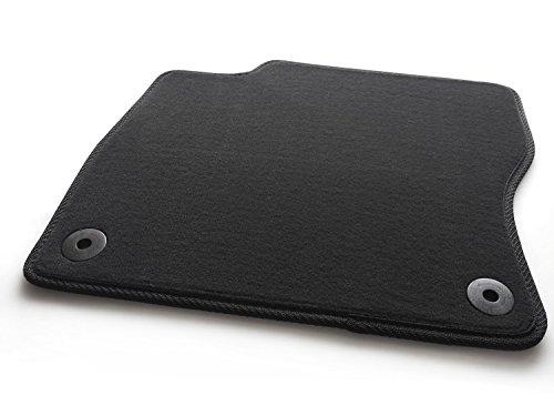 Fußmatte Focus III 3 Automatte Velours Original Qualität Fahrermatte einzeln, Schwarz, Original Befestigung