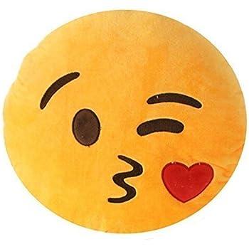 Li Hi Emoji Emoticones Oreiller Rire Coussin President Oreiller Coussin De Siege Rond Diable Coussins