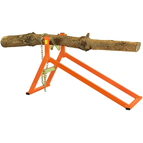 Photo of Forest Master Ltd Ultimate Saw Horse Sawhorse, Orange