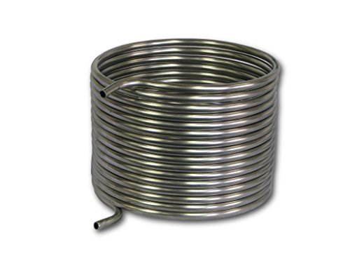 """COLDBREAK 50' HERMS Coil, 1/2"""" Stainless Steel, 12"""" Diameter, Step Mash 10-20 Gallon Batches"""