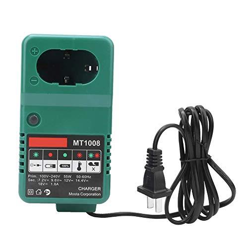 MT1008 Universal Electric Drill Battery Charger 7.2V/9.6V/12V/14.4V/18V 110-240V