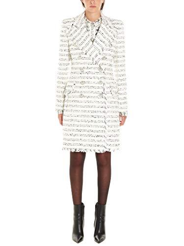 Balmain Luxury Fashion Damen SF08547C1900FA Weiss Polyester Mantel | Herbst Winter 19