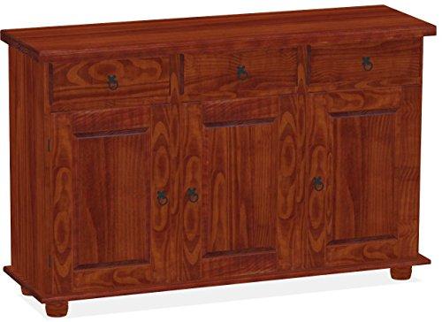 Sideboard Mahagoni Rio Classico Esszimmer Holz Pinie Massivholz Echtholz Farbe wählbar Brasilmöbel