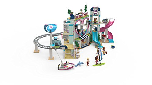Popular and Fun Toy Set for Girls 6213498 1017 Piece LEGO Friends Heartlake City Resort 41347 Top Hotel Building Blocks Kit for Kids Aged 7-12