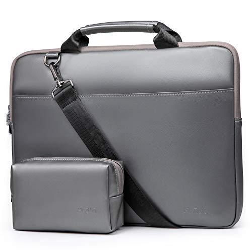 HYZUO 14 Inch Laptop Sleeve Handbag with Shoulder Strap Compatible with Lenovo Flex 14/IdeaPad 3 14/HP Pavilion X360 14/ HP Stream 14/ASUS VivoBook Flip 14/ASUS ZenBook 14/Acer Spin 7