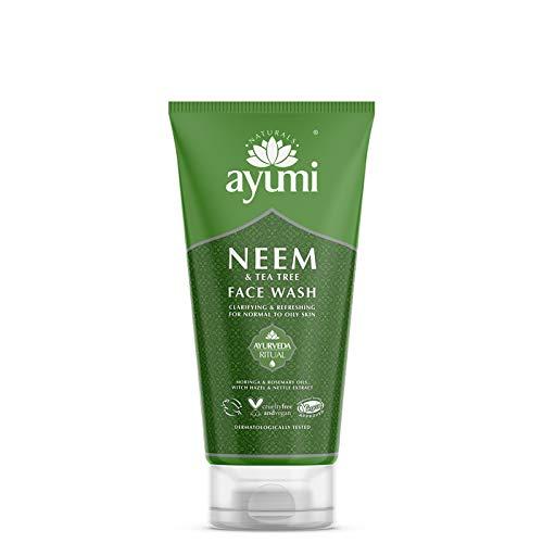 Ayumi Neem & Tea Tree Face Wash 1 x 150ml