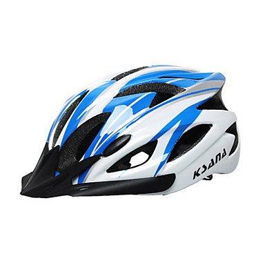 unisex18respiraderos montaña/bicicleta de carretera PC + EPS casco, color azul, tamaño sky...