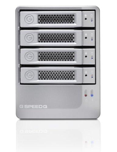 G-Technology G-Speed NAS-systeem met harde schijf 8TB (8,9 cm (3,5 inch), SATA 300, USB 3.0) zilver