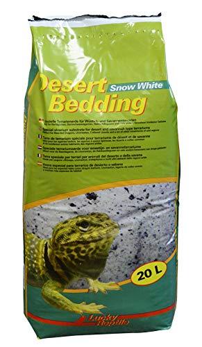 Lucky Reptile DBW-20 Desert Bedding Snow White, 20 l